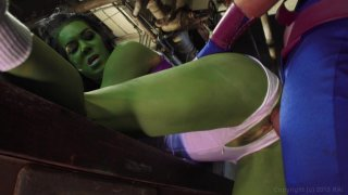 Screenshot #24 from She-Hulk XXX: An Axel Braun Parody